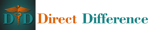 Direct Difference Sticky Logo