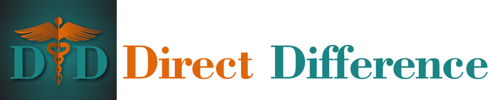Direct Difference Retina Logo