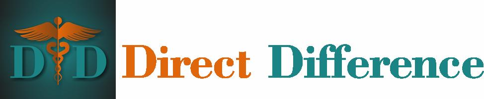 Direct Difference Retina Logo